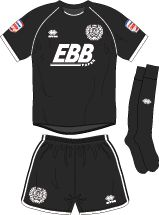 Aldershot Town FC Football Kits 2011-2013 3rd Kit