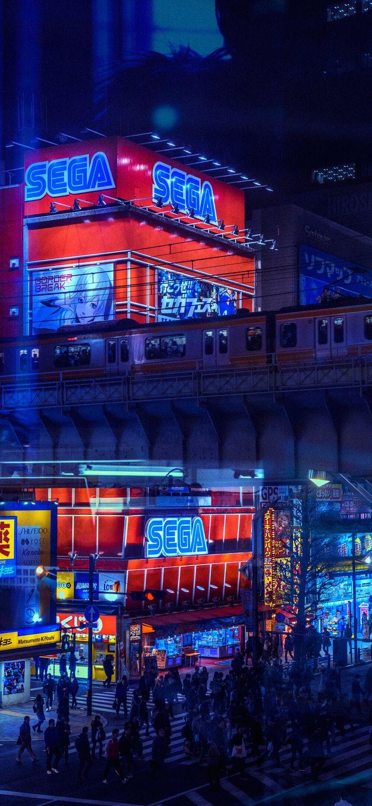 Liam Wong   Anime city, Phone wallpaper, Wallpaper