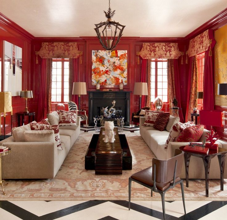 Designers 12 Favorite Shades Of Red Paint {and A Gift!} Part 61
