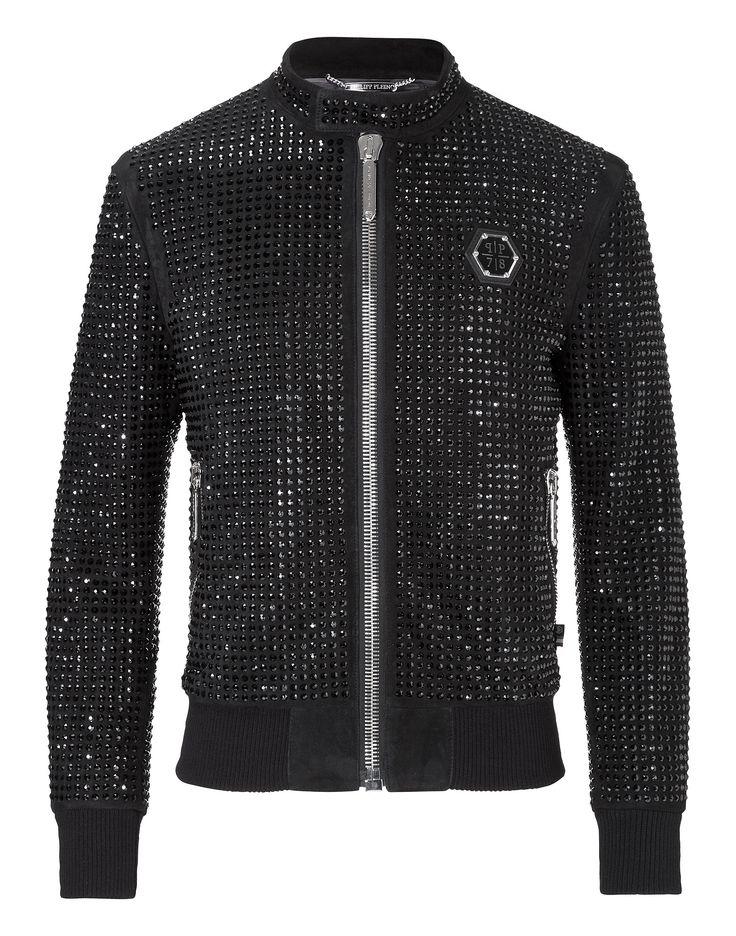 "biker jacket ""lately"" | Philipp Plein Outlet"