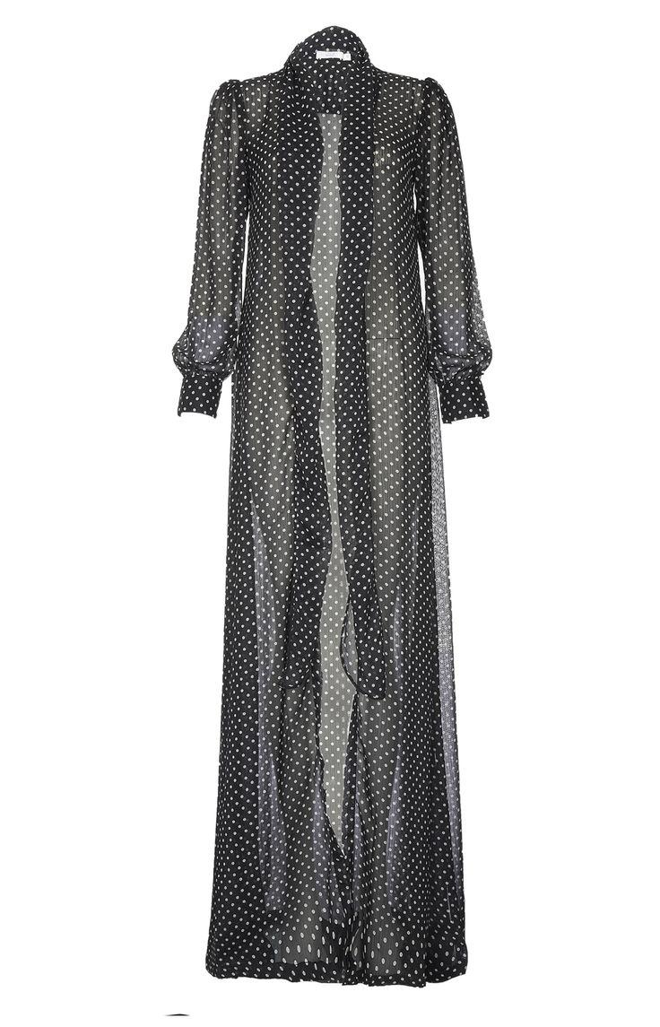 Aab UK Polka Tie Kimono : Standard view
