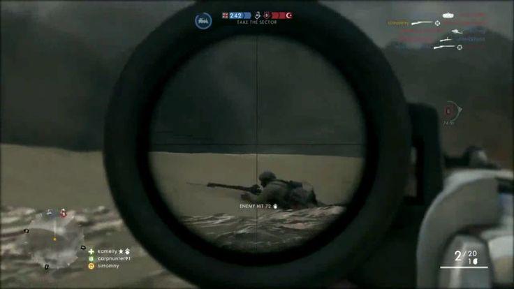 Battlefield 1 sniper montage