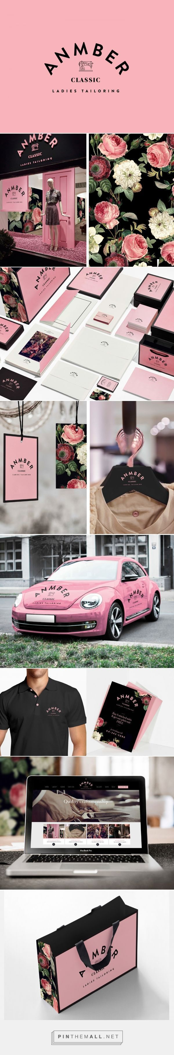 Anmber Ladies Tailor Branding by Fifth Estate | Fivestar Branding Agency – Design and Branding Agency & Curated Inspiration Gallery