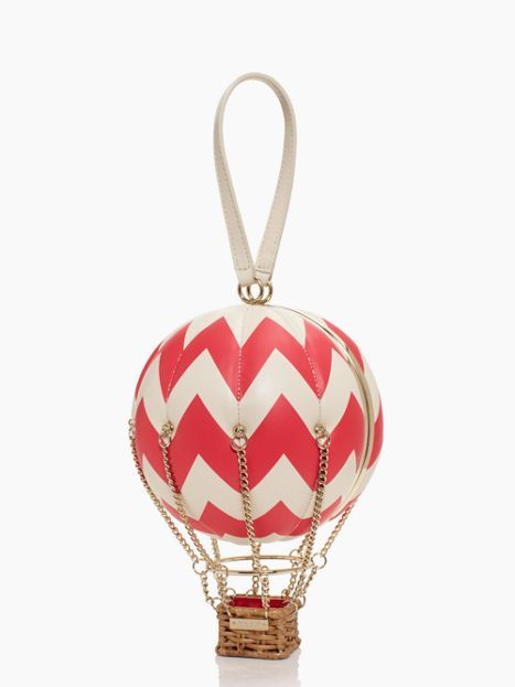flights of fancy balloon bag; $400; try to get it on sale!  Would be SO COOL hung in your office as decor!