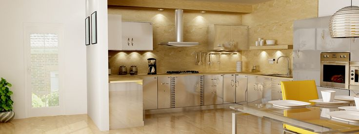 Durable, washable and hygienic kitchens.