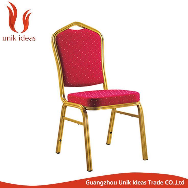 Cheap metal furniture church hotel wedding banquet chair for sale