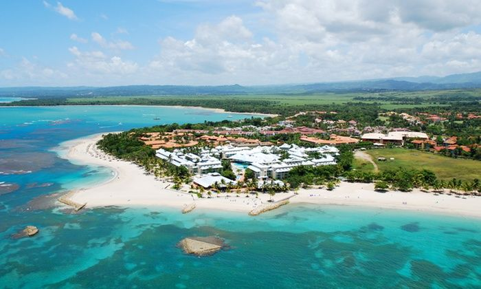 4-Night All-Inclusive Grand Paradise Playa Dorada Stay with Air from Travel by Jen - Puerto Plata, Dominican Republic: ✈ 4-Night All-Inclusive Grand Paradise Playa Dorada Stay with Air. Price per Person Based on Double Occupancy.