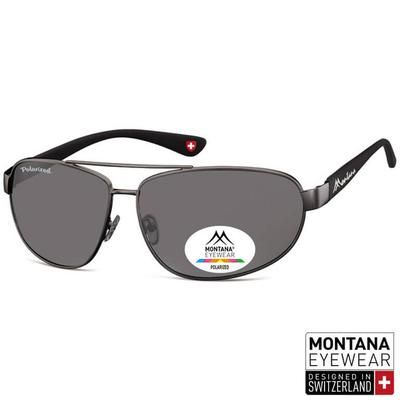 "Γυαλιά Ηλίου Polarized Montana Wraps ""Pear"" MP99-BLACK-e-chap"