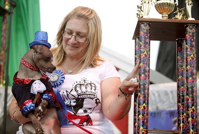 Ugliest dog contest, awwwww
