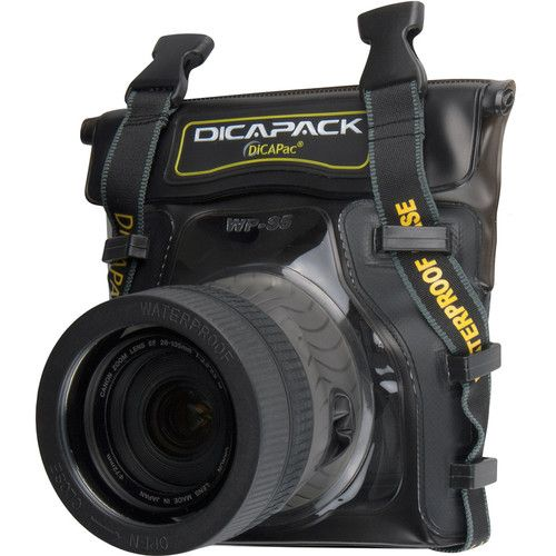 DiCAPac WP-S5 Waterproof Case for Small DSLR Cameras