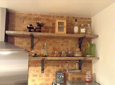 £13 a pair shelf brackets scaffold plank rustic shelf SALE ON!!