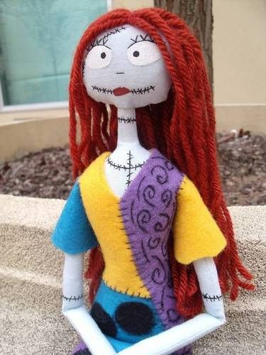 Sally From Nightmare Before Christmas Manualidades