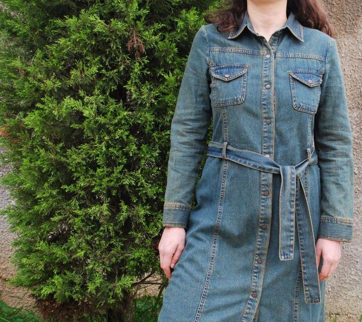 Vintage Kot Uzun Ceket  Pardesü OpusPocus'ta 90 TL. Online alışveriş ve bilgi için http://bit.ly/1NXnxuu