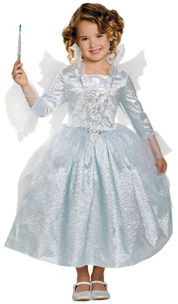 Are you looking for an adorable Fairy Godmother Costume for Kids? You'll find the ideal Cinderella 2015 Fairy Godmother Costume for kids with accessories...