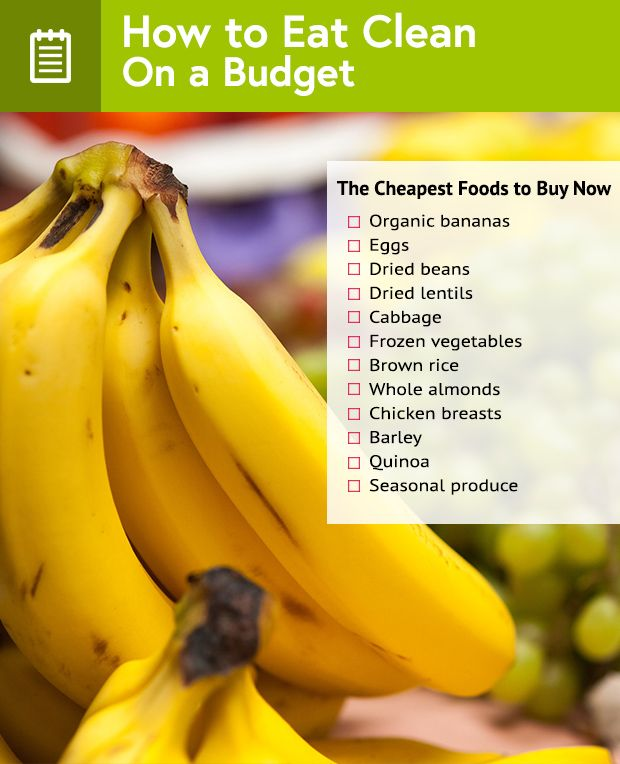 6 Tips for Clean Eating on a Budget
