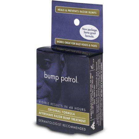 Bump Patrol Original Formula Aftershave Razor Bump Treatment, Beige