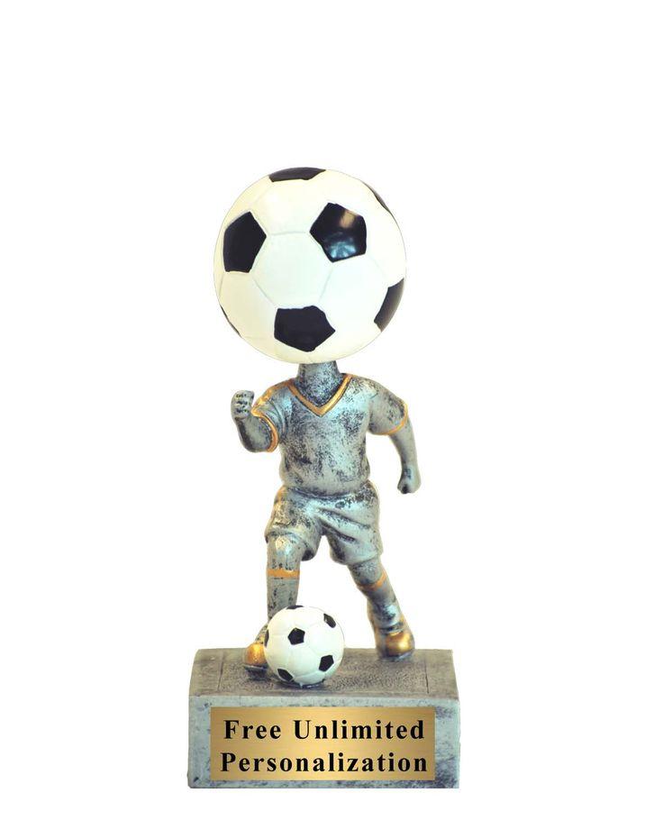 52515GS Bobblehead Soccer Trophy