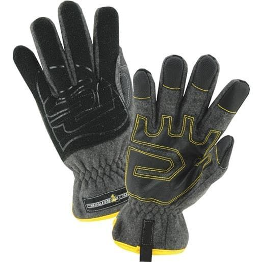 West Chester Xl Slip On Fleece Glove 96110/XL Unit: Pair, Black