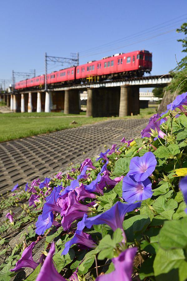 Meitetsu Seto Line, Aichi, Japan © Seiya Nakai 名鉄瀬戸線 This is where I live. Pinterestに瀬戸電・・・(笑)