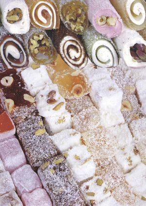 Can i just say, personally i think that Turkish delight is the best candy/sweet food in the world! ( Besides cookie dough :D )