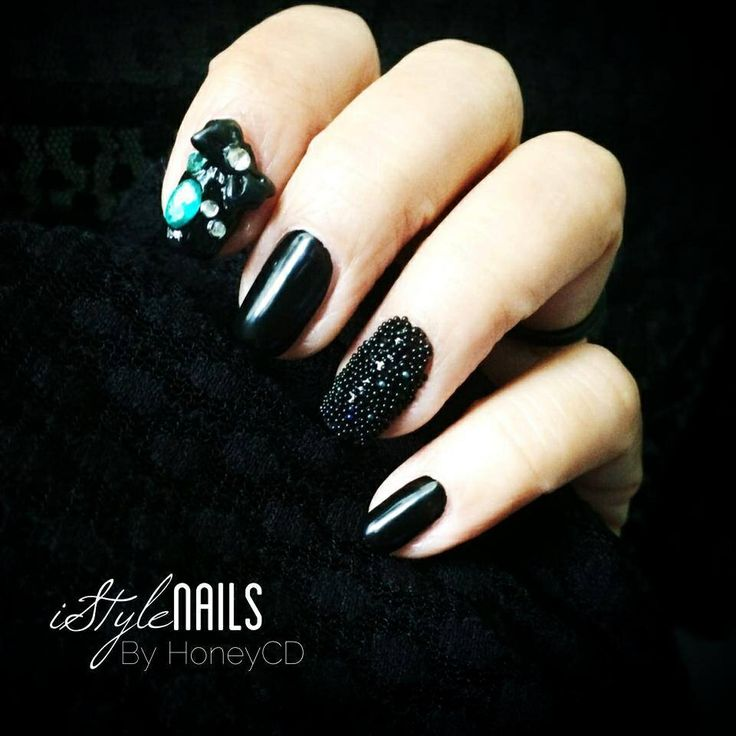 29 best My Nail Art Designs | Shades Of Black images on Pinterest ...