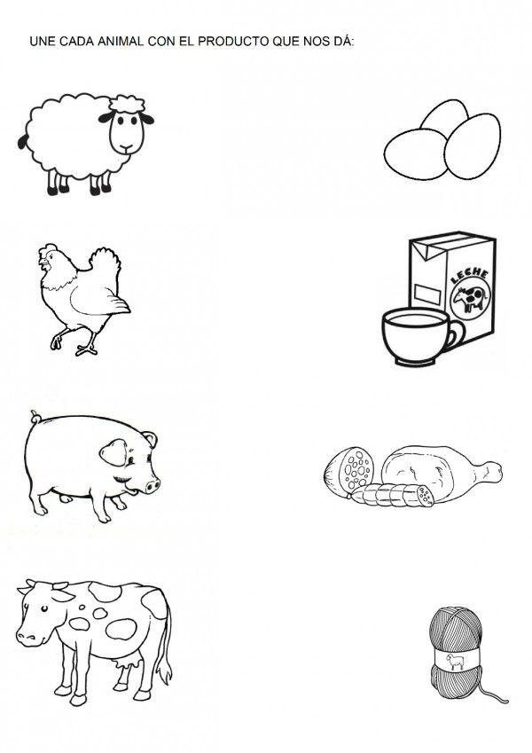 Dibujos Infantiles De Animales Para Descargar Imprimir Pintar Y