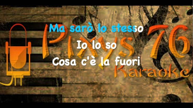 Eros Ramazzotti - Rosa nata ieri Karaoke Instrumental Cori