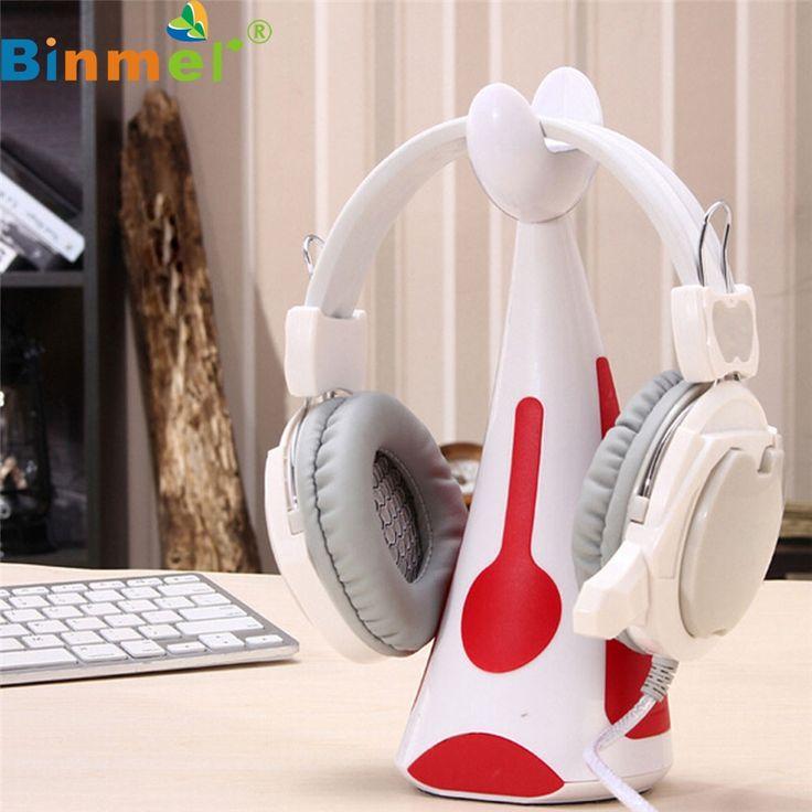 Factory Price Binmer New General Earphone Bracket Headphones Headset Hook Powerful Paste  Oct12