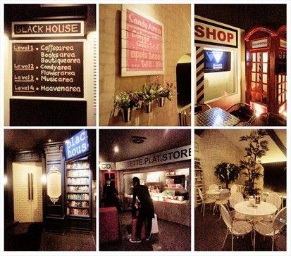 Blackhouse, Cafe & Resto dengan 7 Ruangan Bertema