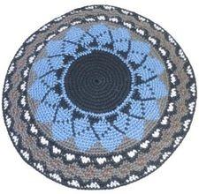 How to Crochet a Men's Cotton Kippah