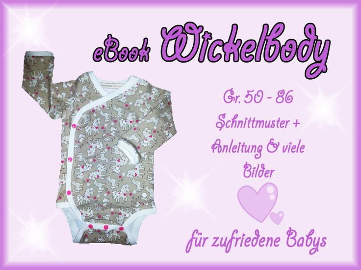 PAID: Wrap body pattern and eBook in sizes 44 to 104 (Preemie to 4T).