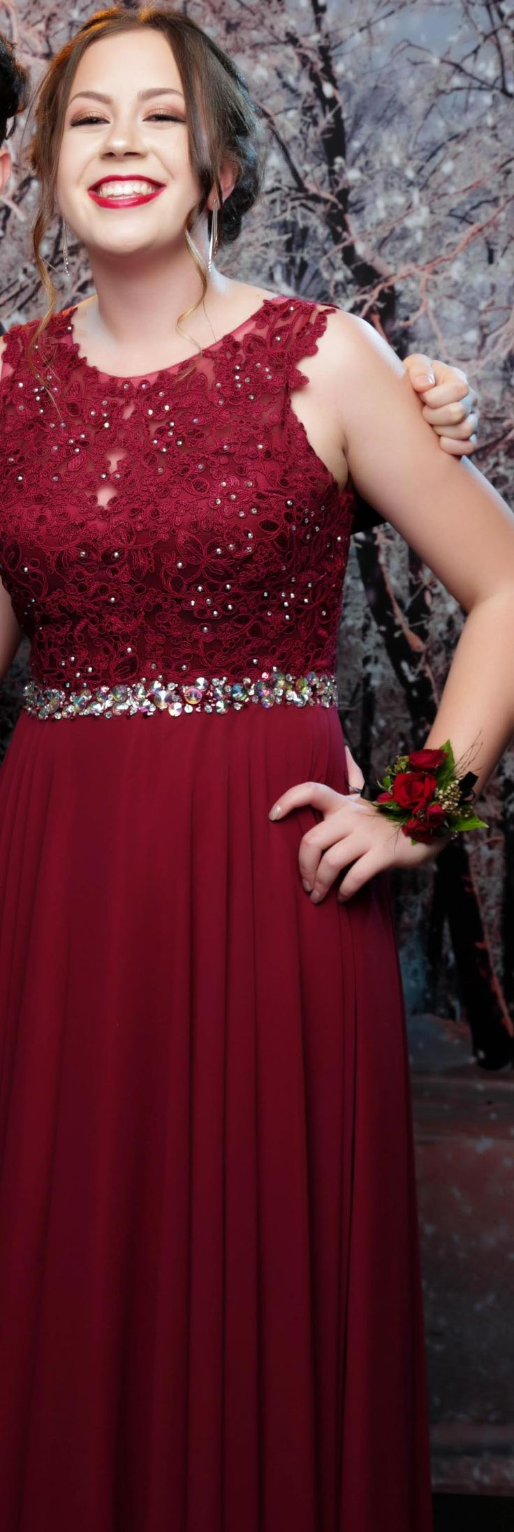 Long Bay College School Ball 2017. Love the detail in this gown!