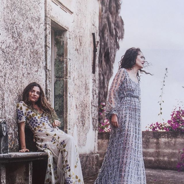 Spring Dreams  Luisa Beccaria @luisa_beccaria with her daughter Lucrezia @lucreziabonaccorsi wearing dreamy dresses from the Spring-Summer '16 collection #luisabeccaria_ss16 #luisabeccaria_lifestyle  #luisabeccaria#lifestyle#romantic#romance#ss16#dreamy#dreamydresses#dreamydress#trueromance#flowerpower