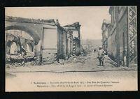 Ελλάδα Salonique Θεσσαλονίκη καταστροφή Πυρκαγιά του 1917 Γαλλική Συνοικία ερείπια της ΔΕΗ
