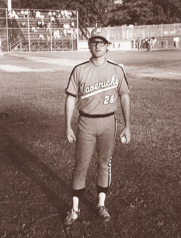 Kurt Russell as a Portland Maverick, 1970s.