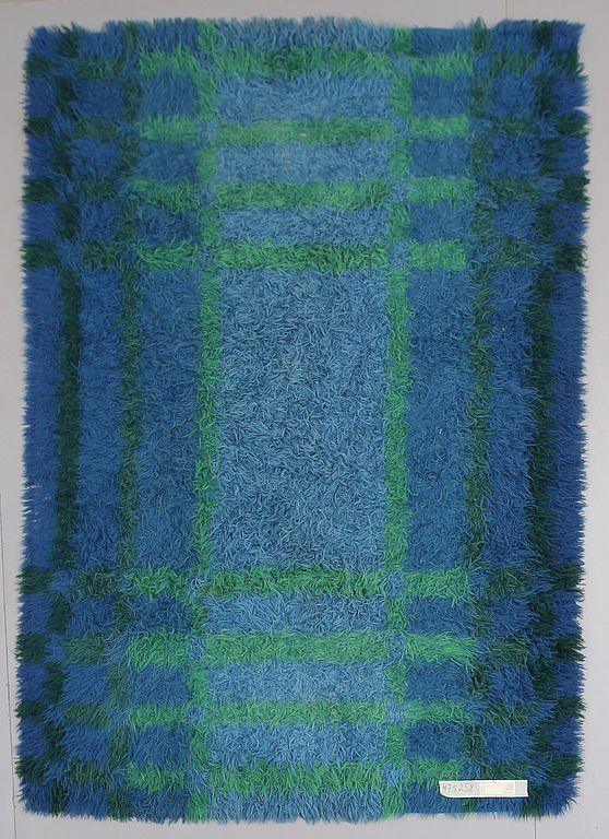 Anonymous; Wool 'Arcade' Rya Rug for Tabergs Yllefabrik, c1970.