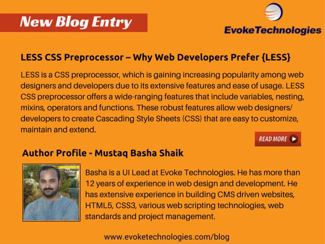 Find out why web designers and developers are embracing LESS CSS preprocessor. #less #css #web