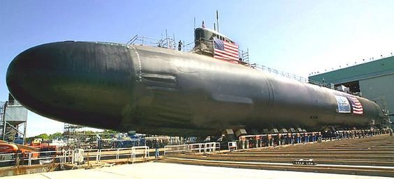 "USS  ""JIMMY CARTER""  SEAWOLF CLASS FAST ATTACK NUCLEAR SUBMARINE"