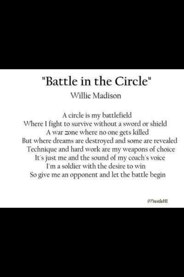 Battle in the circle