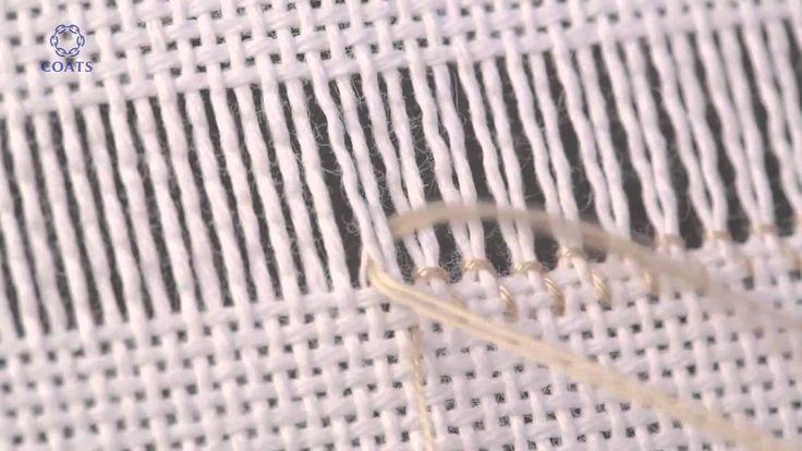 Hardanger Embroidery, Basic Hand Stitches, Bordado Hardanger Hardanger Stitches, Stitch Ladder