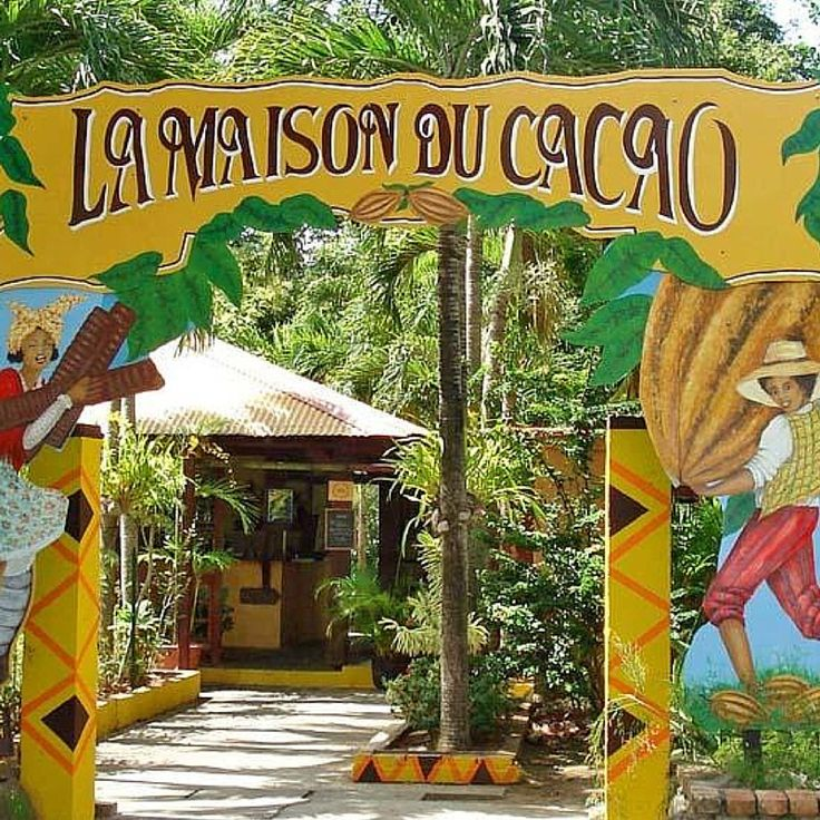 Who loves chocolate? In Guadeloupe they have an awesome Cacao House Guadeloupe - click to know more