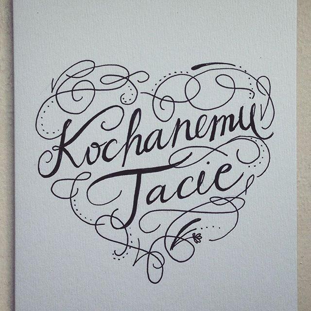 Kochanemu Tacie #kochanemu #tacie #kartka #urodzinowa