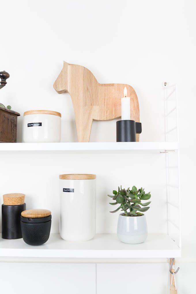 Dalarna Pferd aus Holz sägen - ein Muss für jeden Skandinavien und Hygge Fan und eine hübsche Deko für die Küche