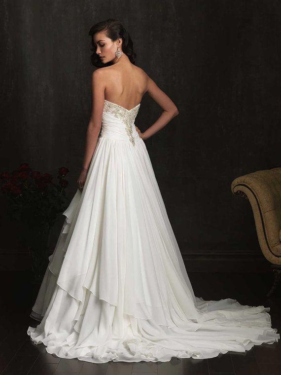 Mejores 568 imágenes de Vestidos en Pinterest   Vestidos de novia ...