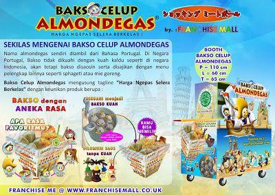 Peluang Usaha Makanan : https://baksokaget.blogspot.co.id/2017/07/franchise-bakso-bakso-celup-almondegas.html Further Information WA : 0821.2828.9977