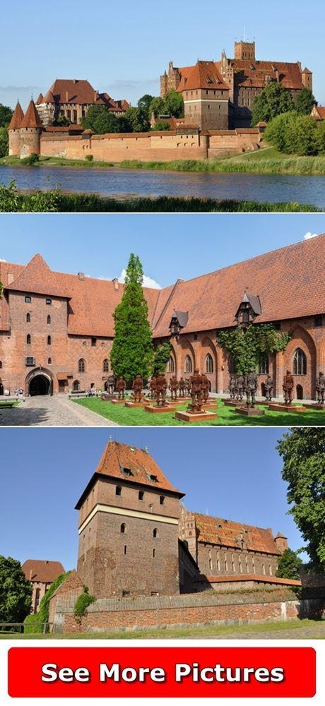 Malbork Castle in Poland ... See More Pictures http://666travel.com/malbork-castle/