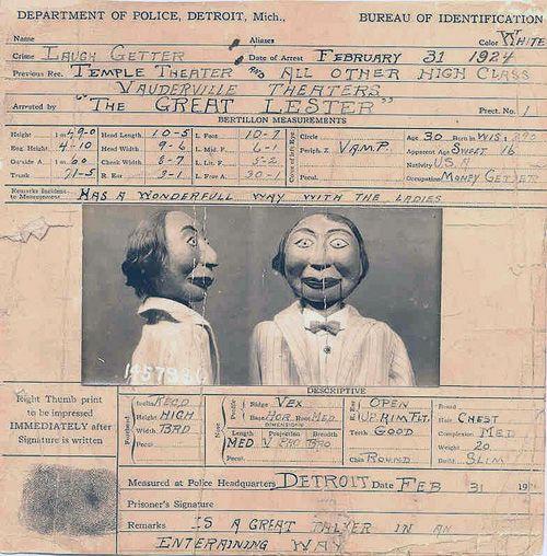 Ventriloquist Criminal