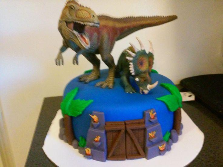 Ark Survival Evolved Cake Creative Birthday Cakes