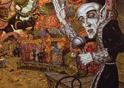 Todd Schorr Paintings For Sale