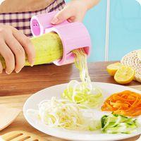 Dual Tamaño Cinta Cortador De Verduras Espiral Slicer Herramienta de la Cocina…